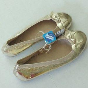 Zara Girl Gold shoes